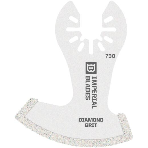 Imperial Blades One Fit 2-1/2 In. Diamond Coated Segment Boot Oscillating Blade