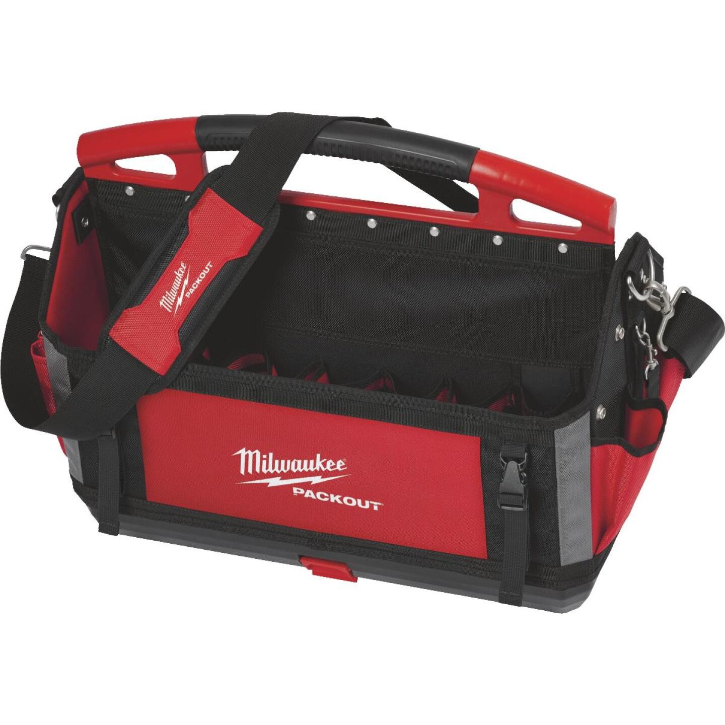 Milwaukee PACKOUT 32-Pocket 20 In. Tool Tote Image 1