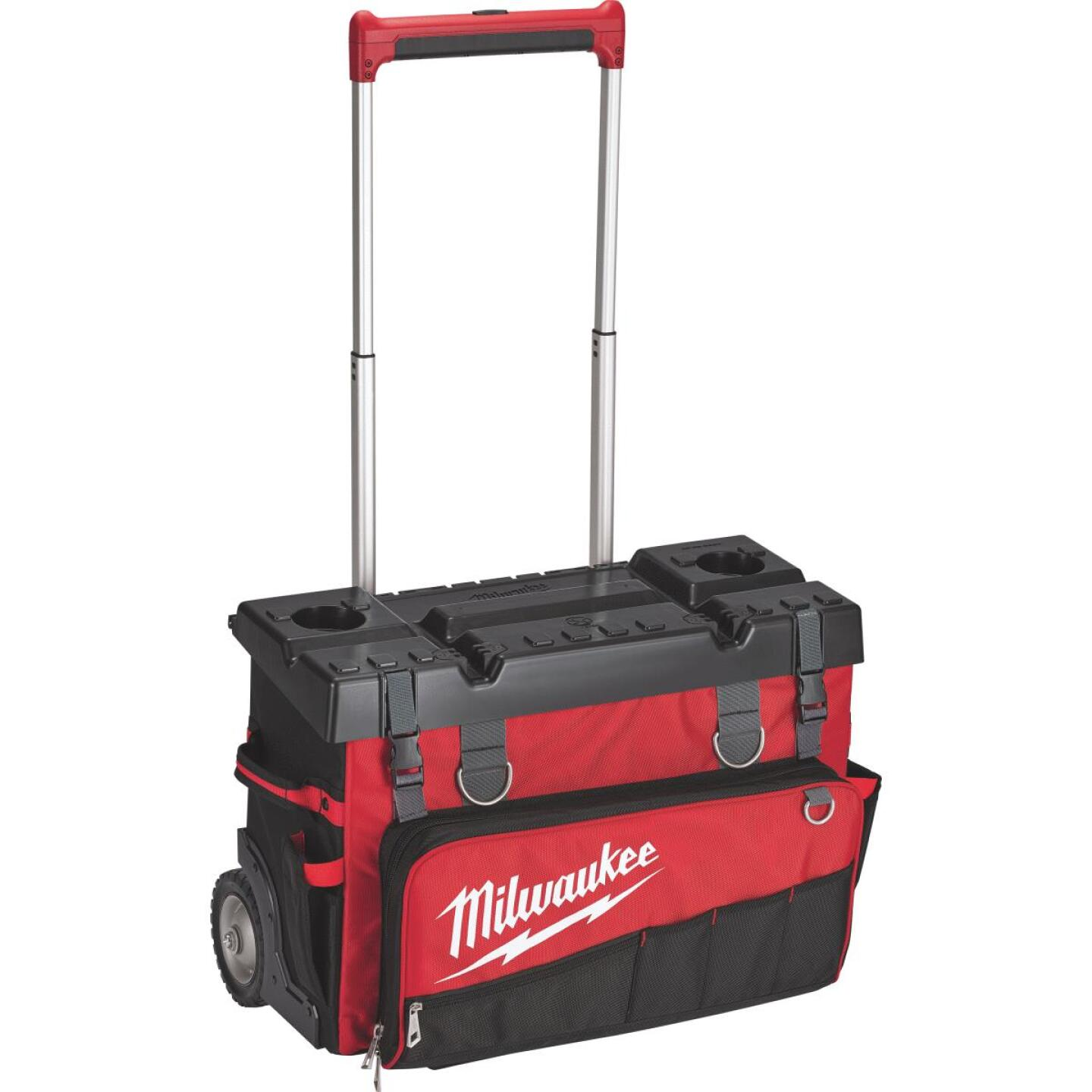 Milwaukee 53-Pocket 25 In. Hardtop Rolling Tool Bag Image 1