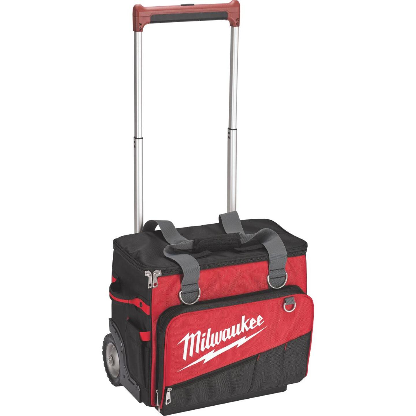 Milwaukee 66-Pocket 19.50 In. Jobsite Rolling Tool Bag Image 1