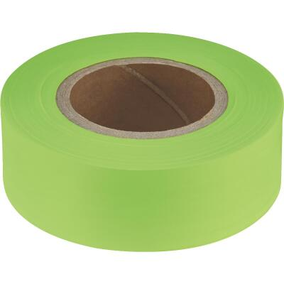Empire 200 Ft. x 1 In. Lime Flagging Tape