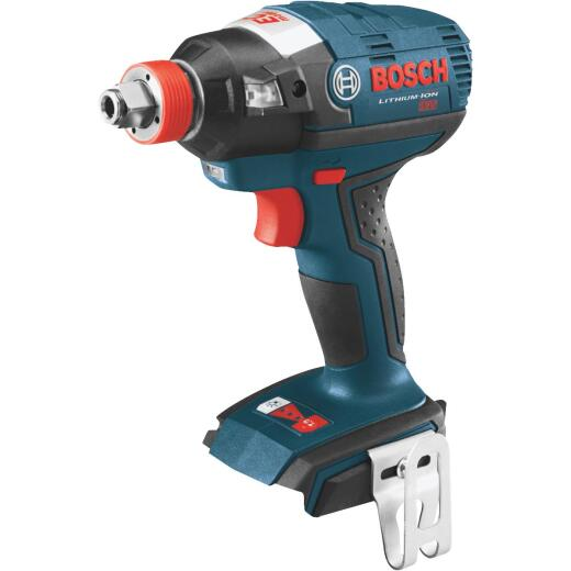 Bosch 18 Volt Lithium-Ion Brushless 1/4 In. Hex and 1/2 In. Square Cordless Impact Driver (Bare Tool)