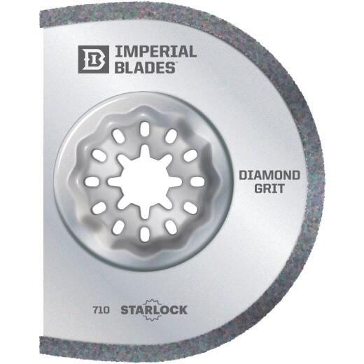 Imperial Blades Starlock 3 In. Segmented Diamond Grit Oscillating Blade