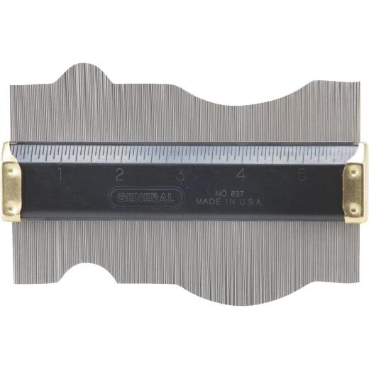 General Tools 3-1/2 In. x 6 In. Contour Gauge