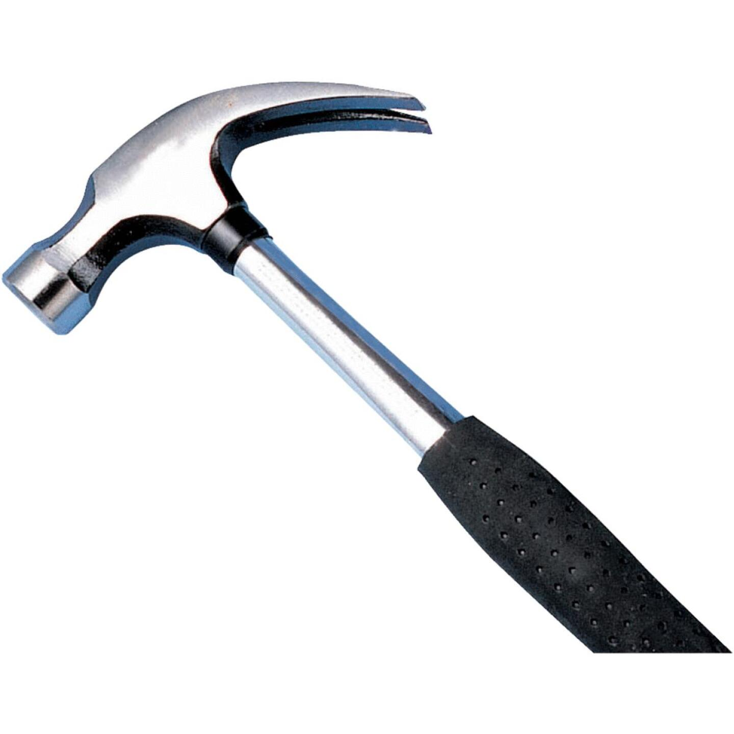 Do it 16 Oz. Smooth-Face Curved Claw Hammer with Steel Handle Image 1