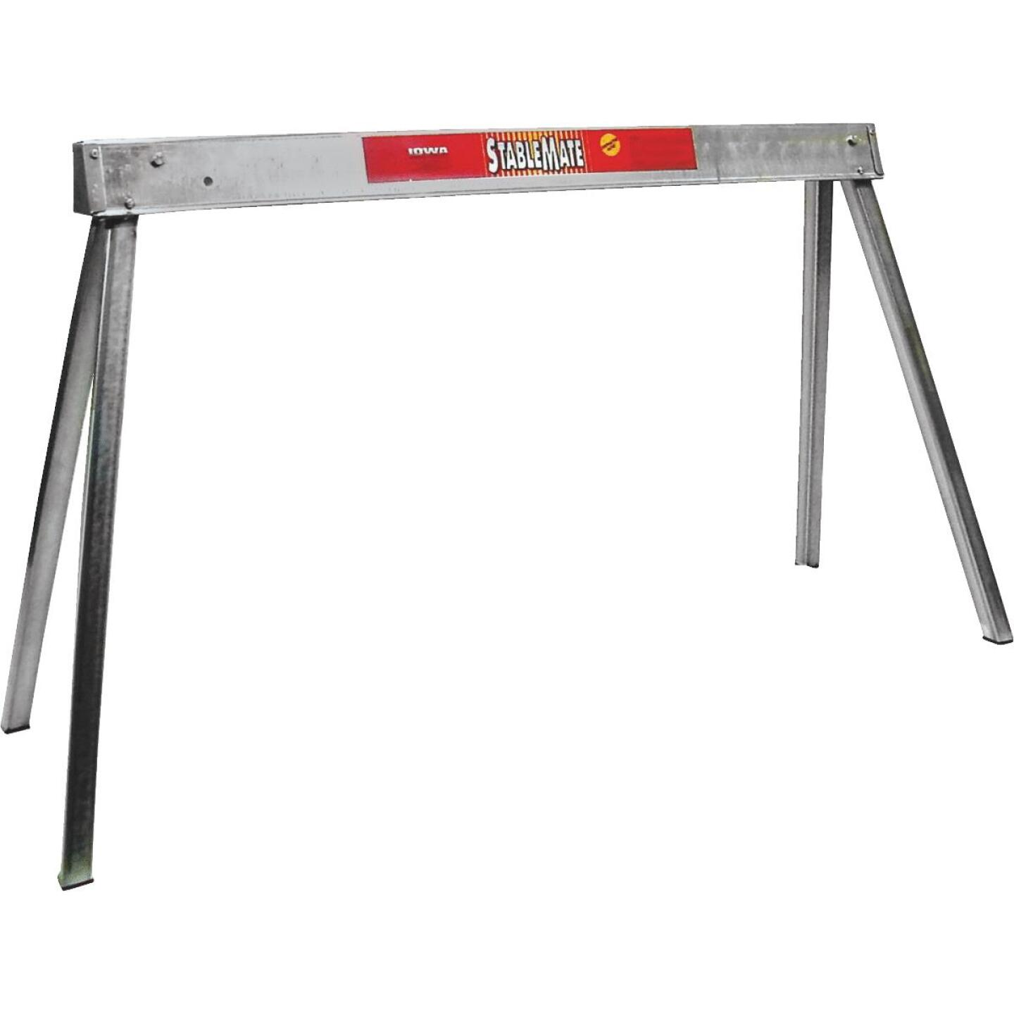 Stablemate 42 In. L Steel Folding Sawhorse, 1000 Lb. Capacity Image 1