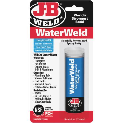J-B Weld 2 Oz. WaterWeld Epoxy Putty