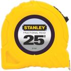 Stanley 25 Ft. Fractional Tape Measure Image 1