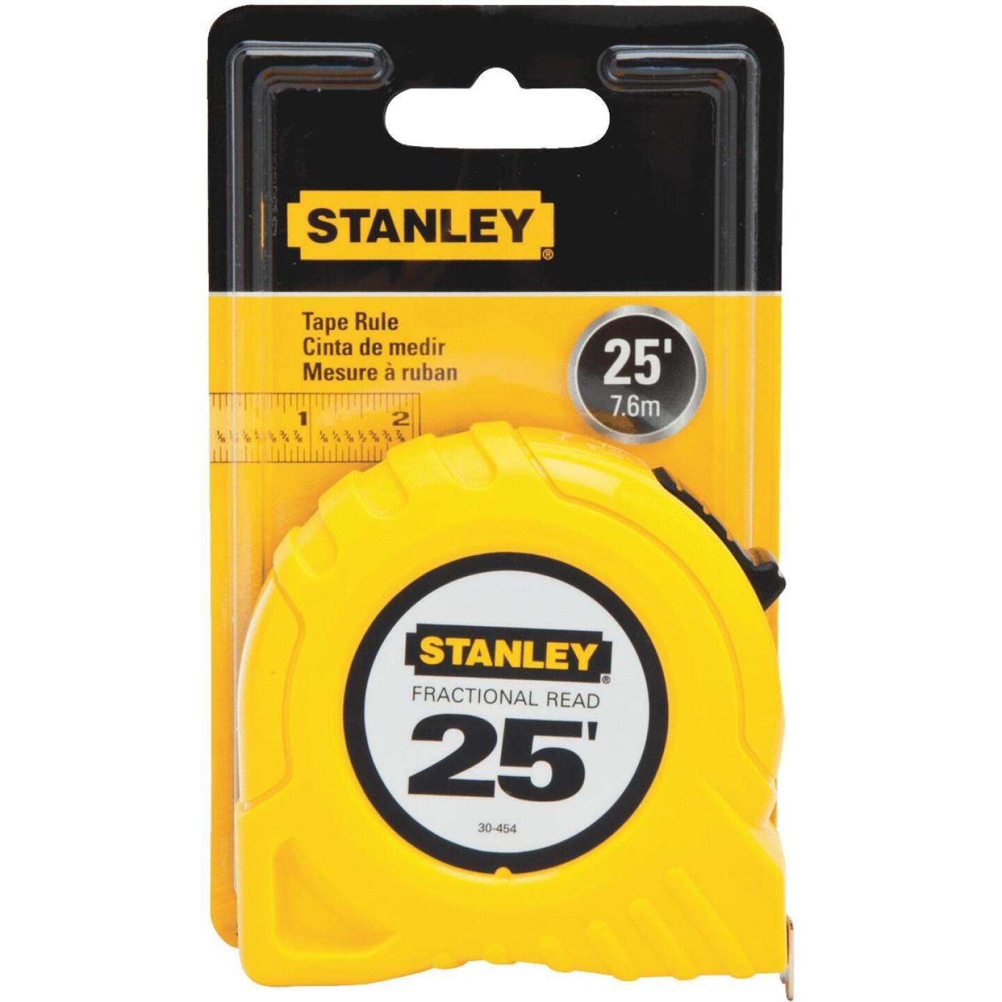 Stanley 25 Ft. Fractional Tape Measure Image 2