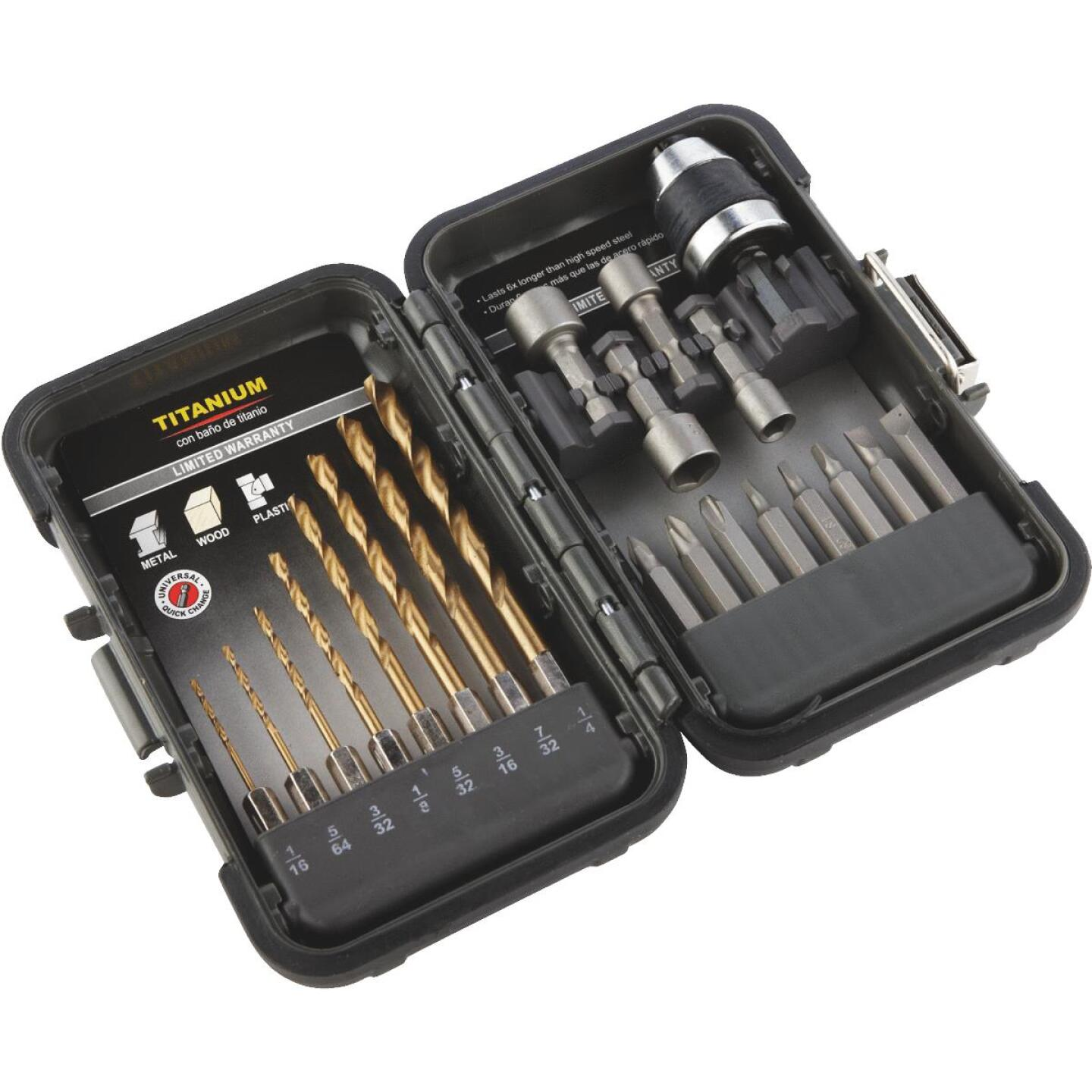 Do it 21-Piece Titanium Drill and Drive Set Image 1