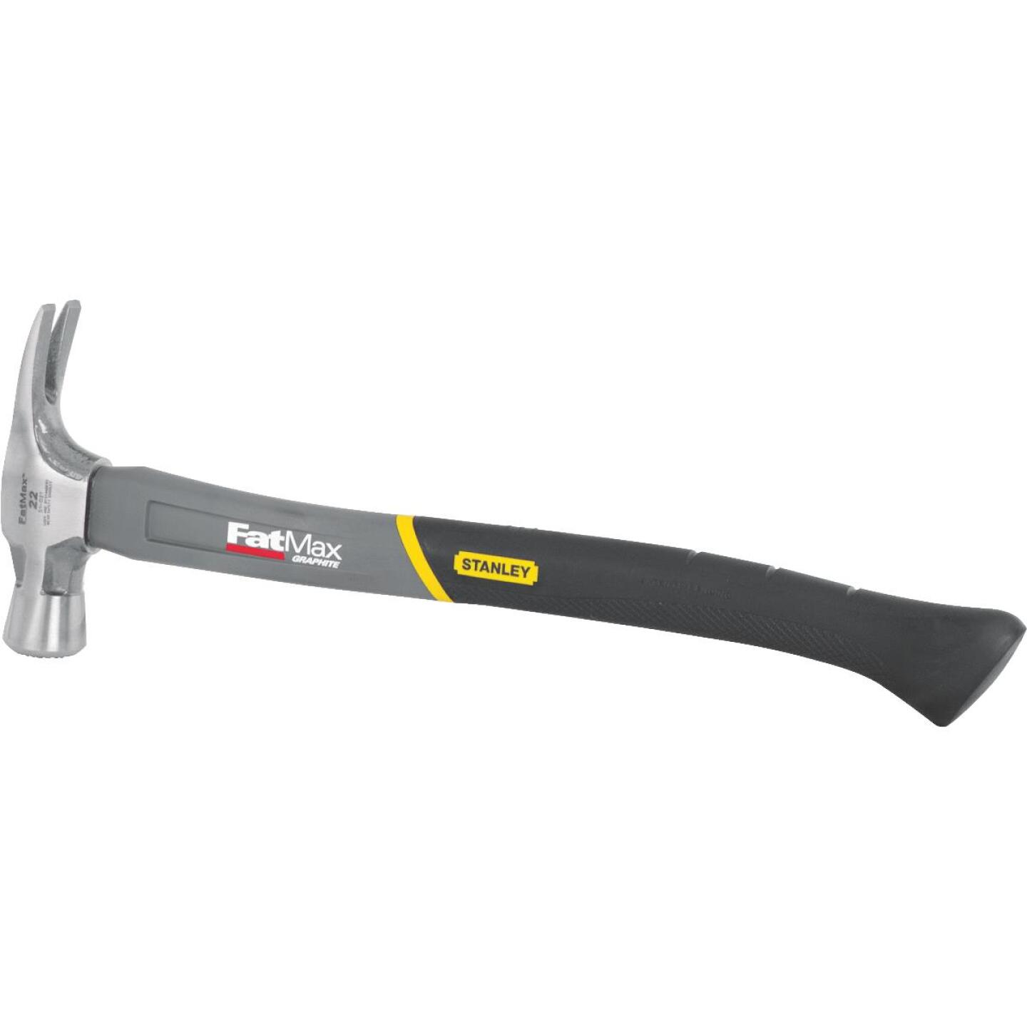Stanley FatMax 22 Oz. Milled-Face Framing Hammer with Graphite Axe Handle Image 2
