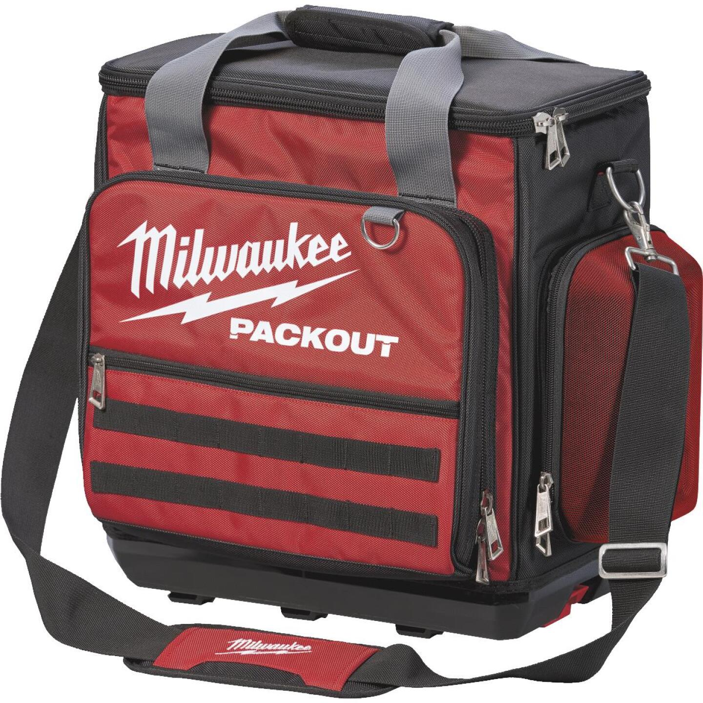 Milwaukee PACKOUT 58-Pocket 18 In. Technician's Tool Bag Image 1