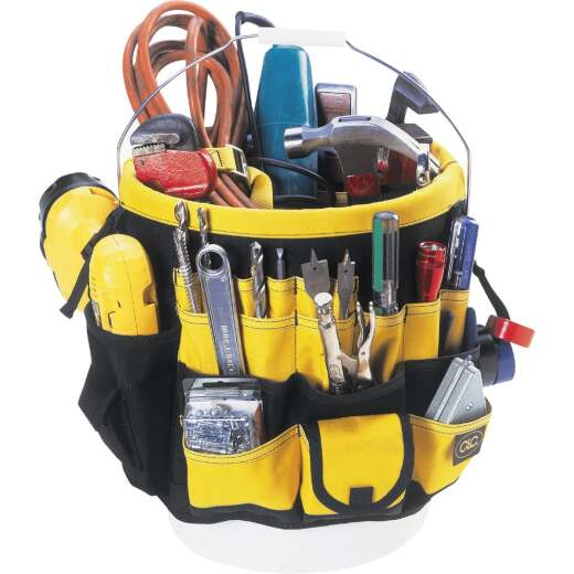 CLC 61-Pocket Top-of-the-Line Tool Bucket Organizer
