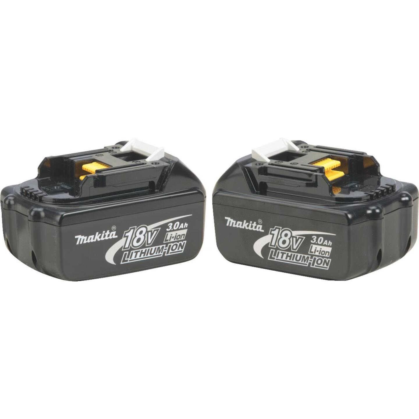 Makita 18 Volt LXT Lithium-Ion 3.0 Ah Tool Battery (2-Pack) Image 1