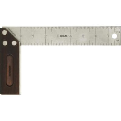 Johnson Level 8 In. L English Professional Bamboo Try Square
