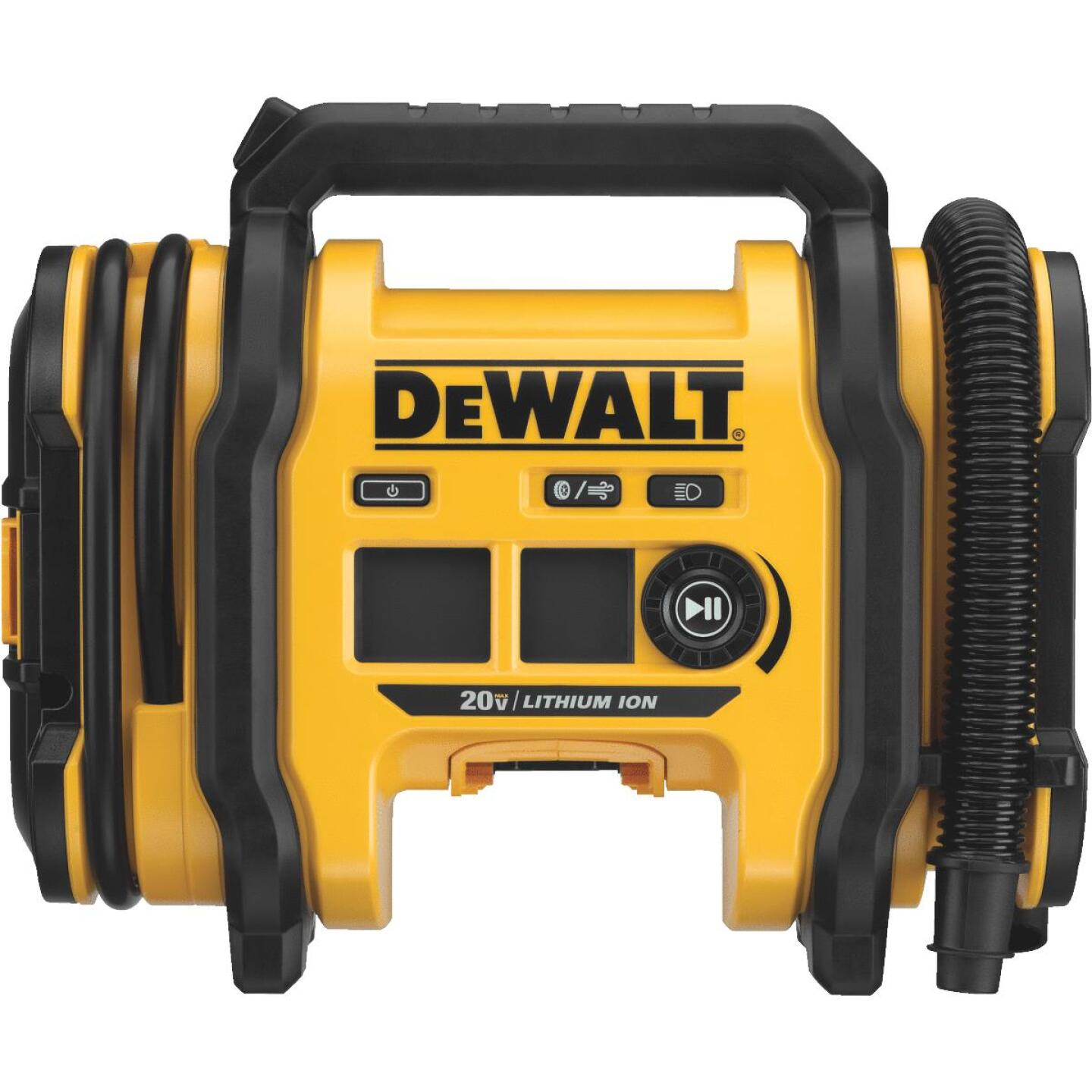 DeWalt 20 Volt MAX Lithium-Ion 160 psi Corded/Cordless Inflator (Bare Tool) Image 1