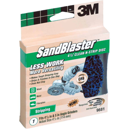 3M Sandblaster 4-1/2 In. Angle Grinder Stripping Disc