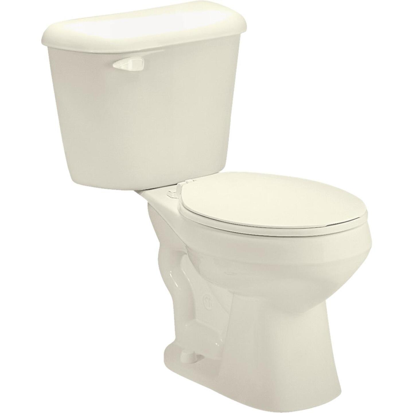 Mansfield Pro-Fit 1-128 HET Biscuit Round Bowl 1.28 GPF Complete Toilet Image 2