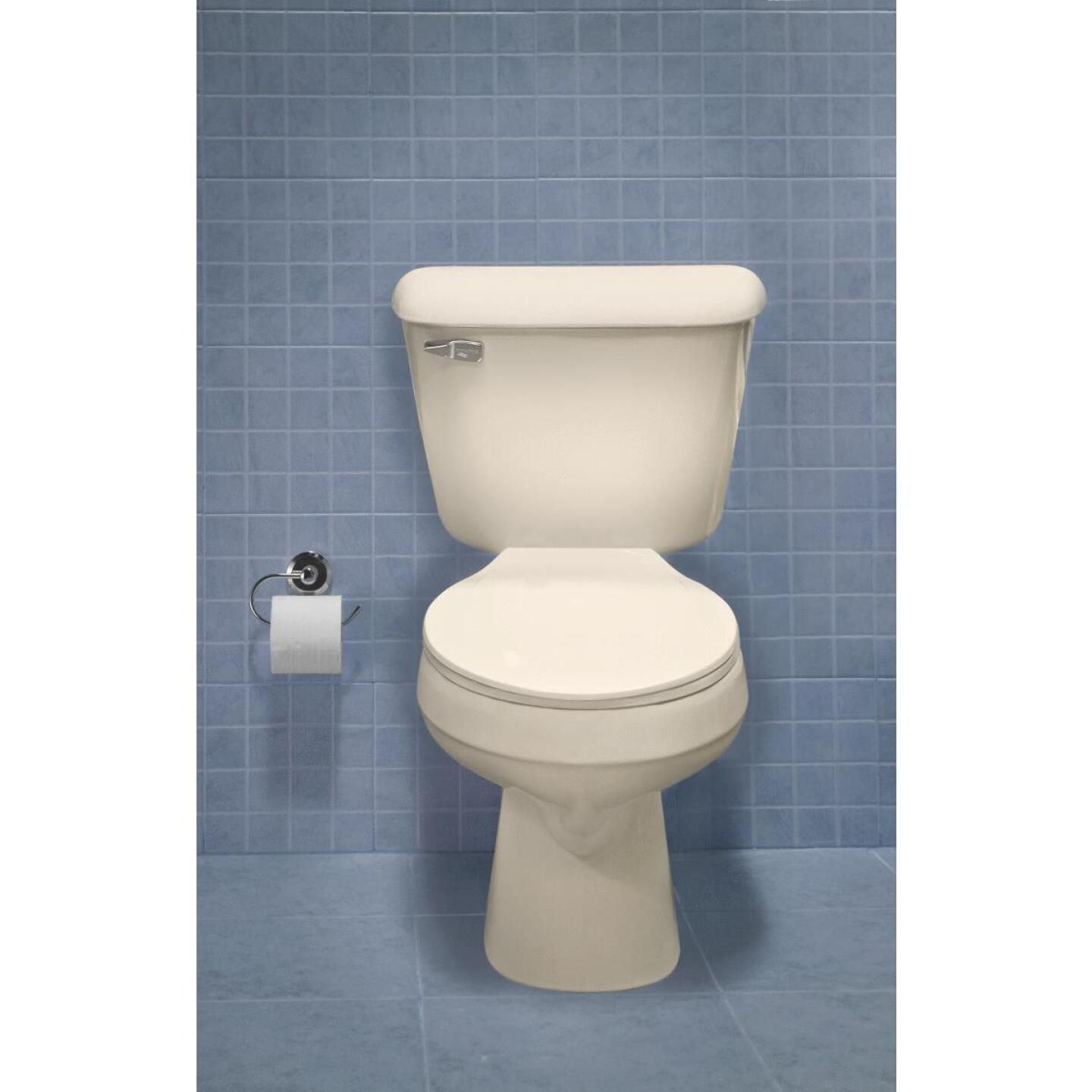 Mansfield Pro-Fit 1-128 HET Biscuit Round Bowl 1.28 GPF Complete Toilet Image 4
