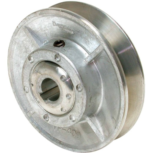 Dial 4 In. x 5/8 In. Variable Pulley for 5/8 HP Motor
