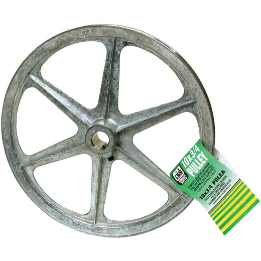 Dial 10 In. x 3/4 In. Blower Pulley with Keyway