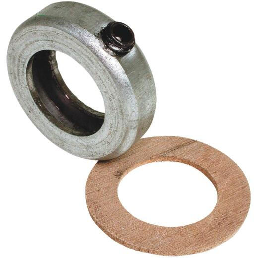 Dial 1 In. Steel Collar & Leather Washer