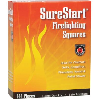 Meeco's Red Devil SureStart Fire Starter Squares (144-Pack)
