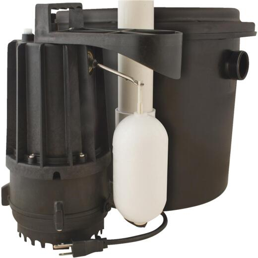 Star Water Systems Drainmaker 1/3 H.P. Sewage Ejector Pump