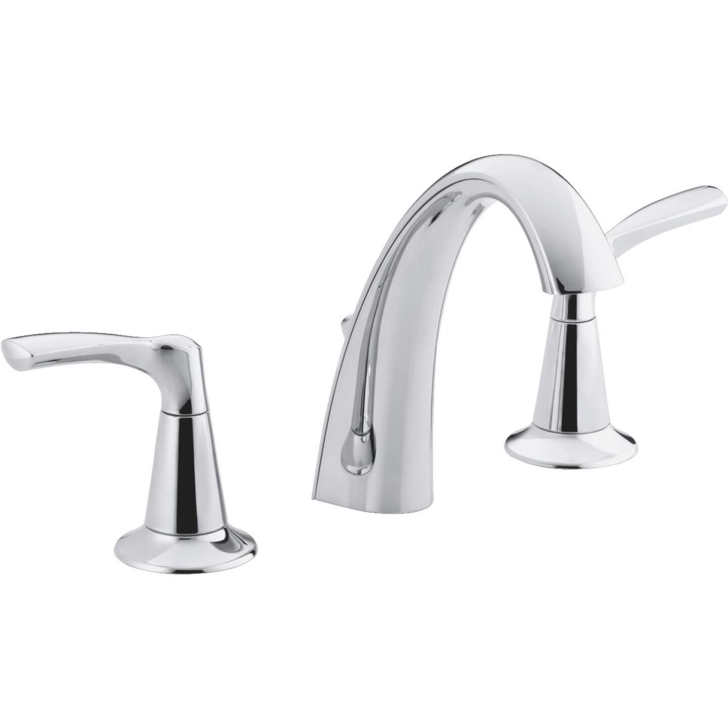 Kohler Mistos Chrome 2-Handle Lever 8 In. Widespread Bathroom Faucet with Pop-Up Image 1