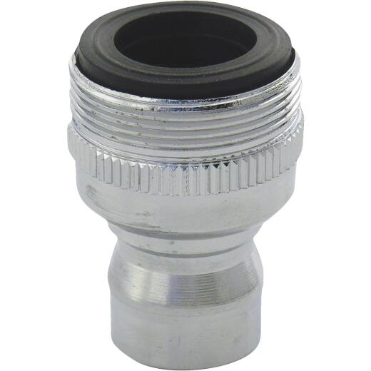 Lasco 1.8 GPM Faucet Aerator Snap Nipple, SM Dual Thread
