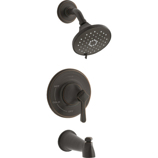 Kohler Georgeson Oil-Rubbed Bronze Single-Handle Water-Saving Tub & Shower Faucet