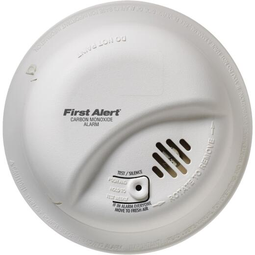 First Alert Hardwired 120V Electrochemical Carbon Monoxide Alarm