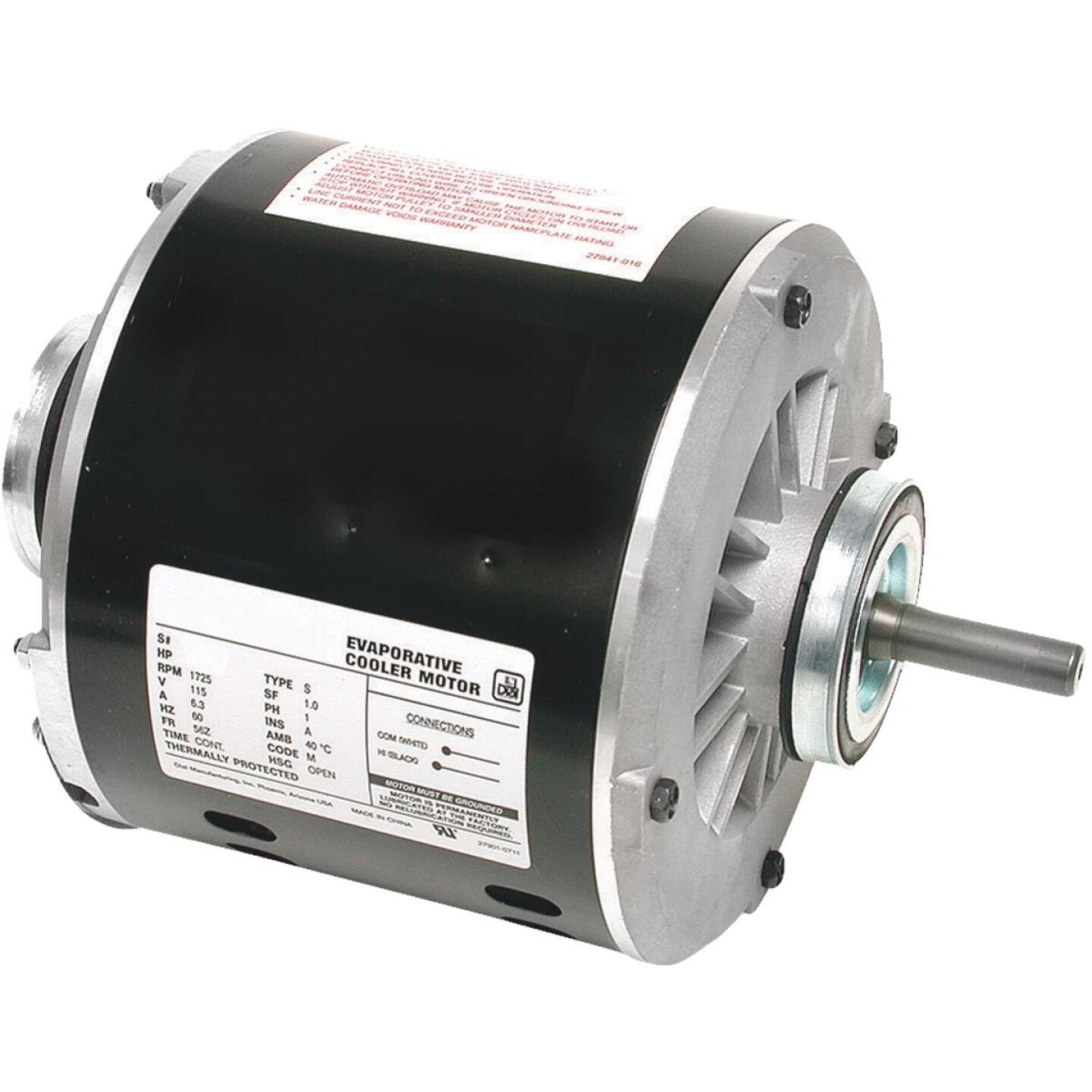 Dial 3/4 HP 1-Speed Residential Replacement Cooler Motor Image 1