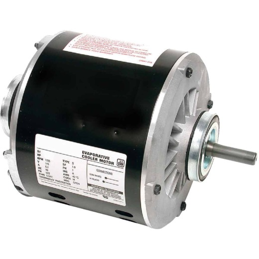 Dial 1/2 HP 1-Speed Residential Replacement Cooler Motor