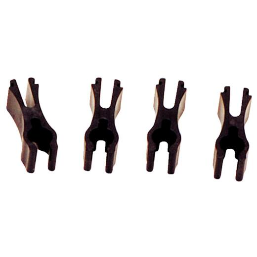 Dial Plastic Tube Retainer Clip for Arctic Circle Coolers (4-Pack)