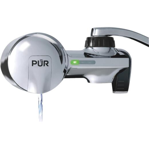 PUR 3-Stage Vertical Faucet Mount Water Filter