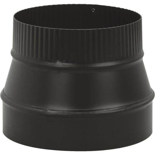 Imperial Single Wall 7 In. - 6 In. 24 ga Black Reducer