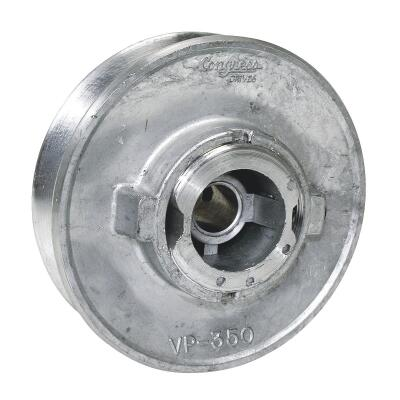 Dial 3-1/2 In. x 1/2 In. Variable Pulley for 1/2 HP Motor