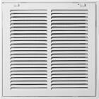 Accord 25 In. x 20 In. White Filter Grille Image 1