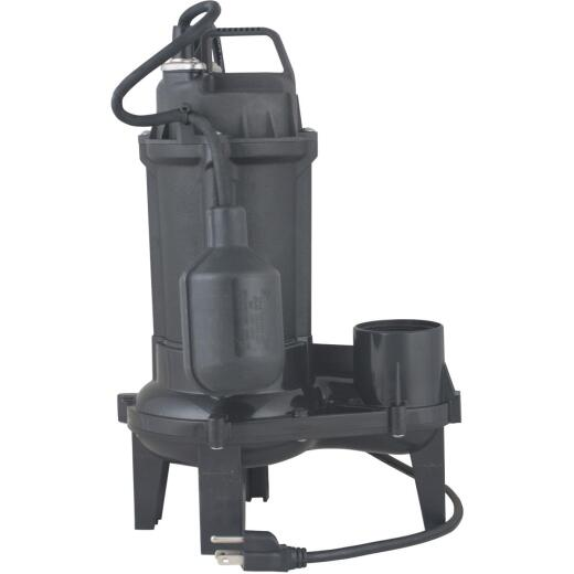 Do it 1/3 HP Cast Iron Sewage Ejector Pump