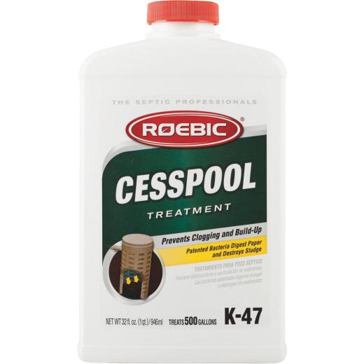 Roebic K-47 1 Qt. Cesspool and Septic Tank Treatment