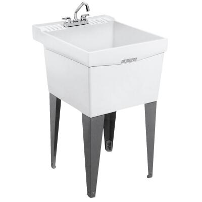 Mustee Utlitub 18 Gallon 20 In. W x 24 In. L Thermoplastic Laundry Tub