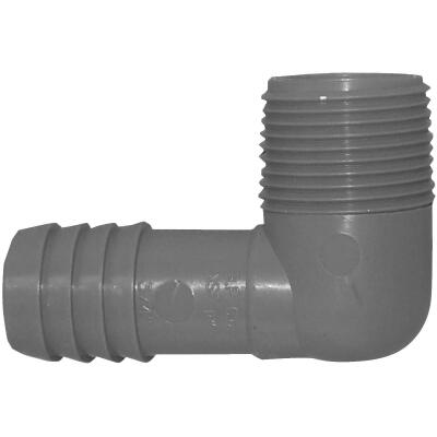 Boshart 3/4 In. Male Polypropylene Insert Elbow