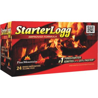 Pine Mountain StarterLogg Fire Starter (24-Pack)