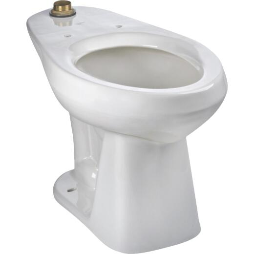 Mansfield Adriatic White Elongated 17 In. ADA Toilet Bowl