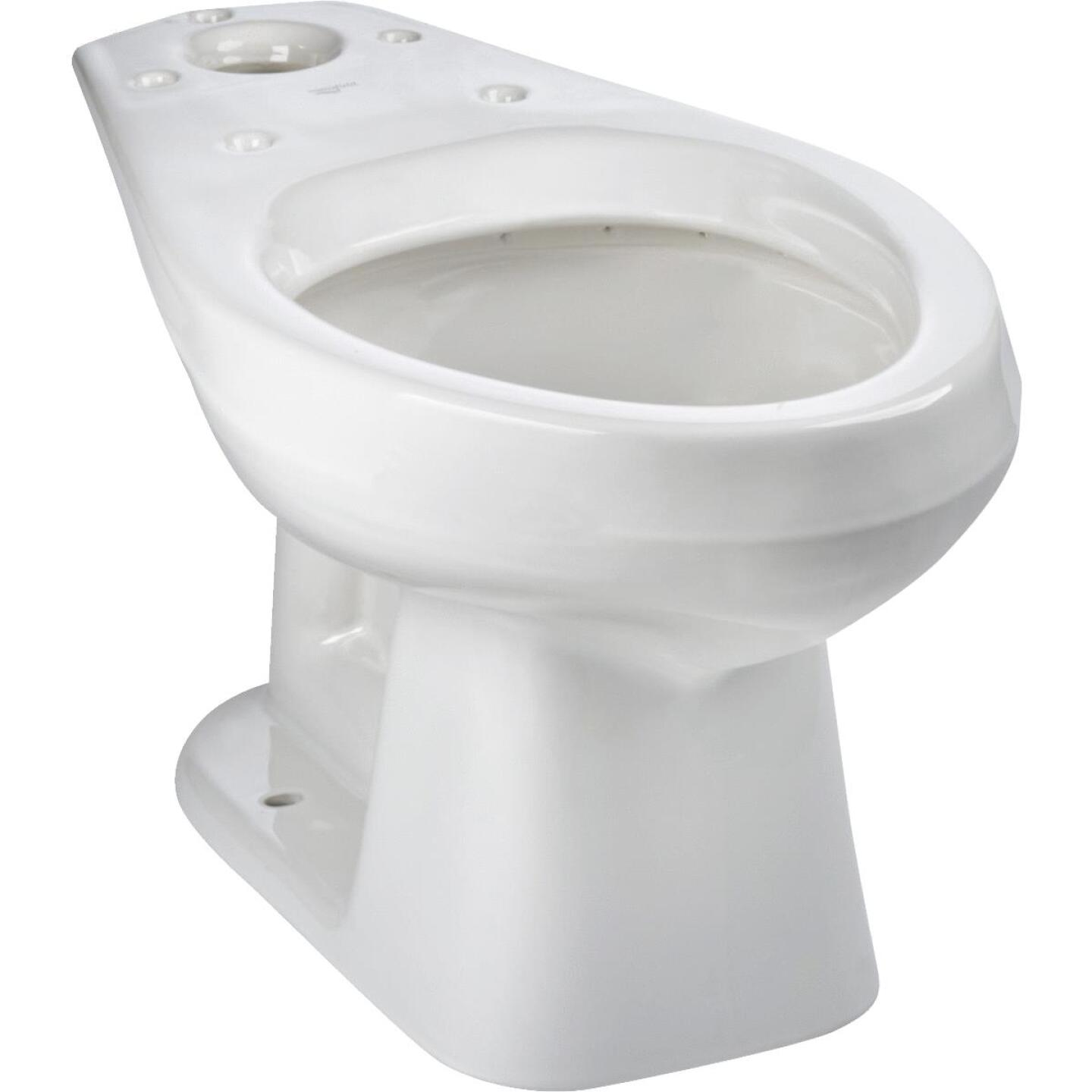 Mansfield Alto White Elongated 14-3/4 In. Toilet Bowl Image 1