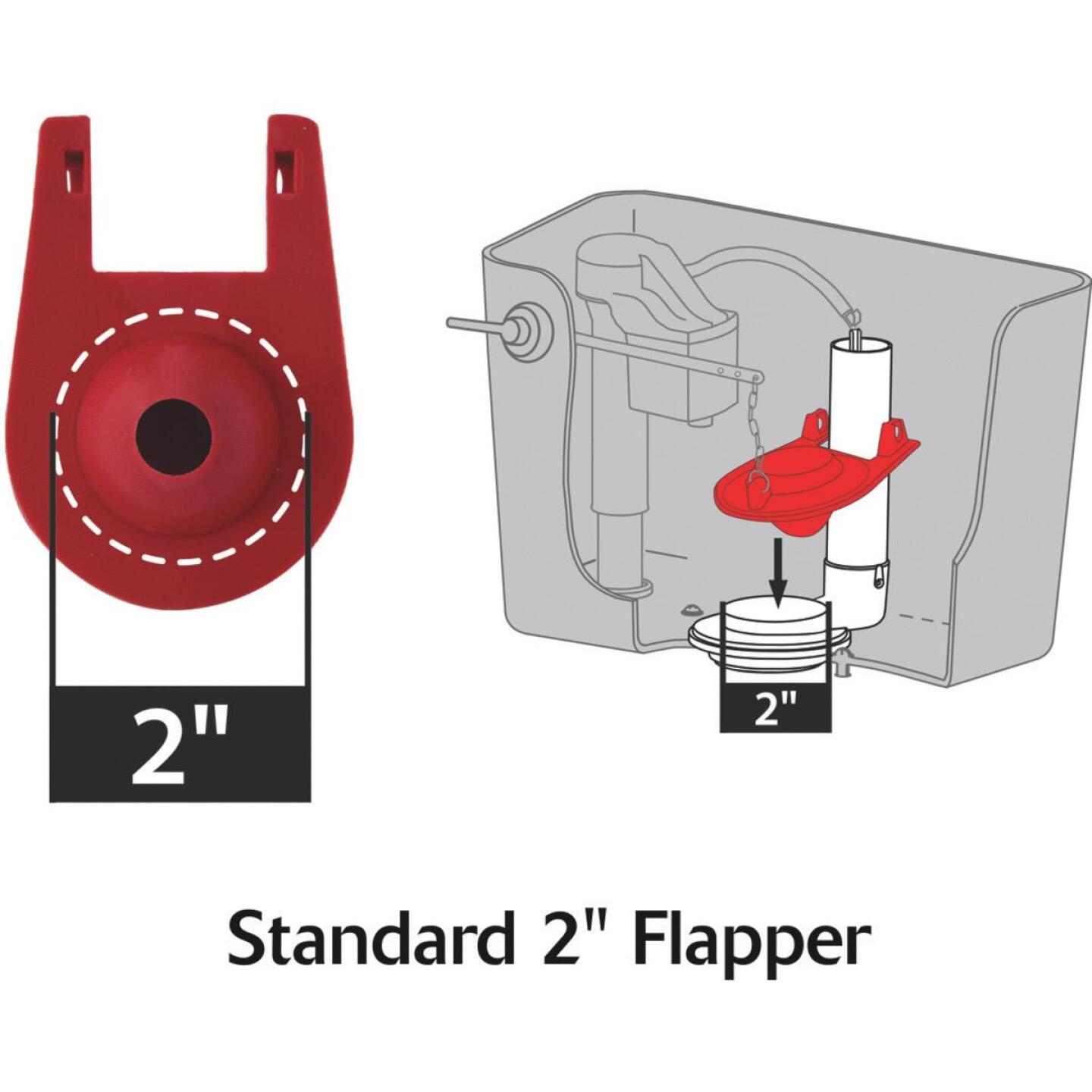 Korky Quietfill Fill Valve and Premium Flapper Kit  Image 3