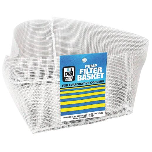 Dial Polyethylene Mesh Pump Filter Basket