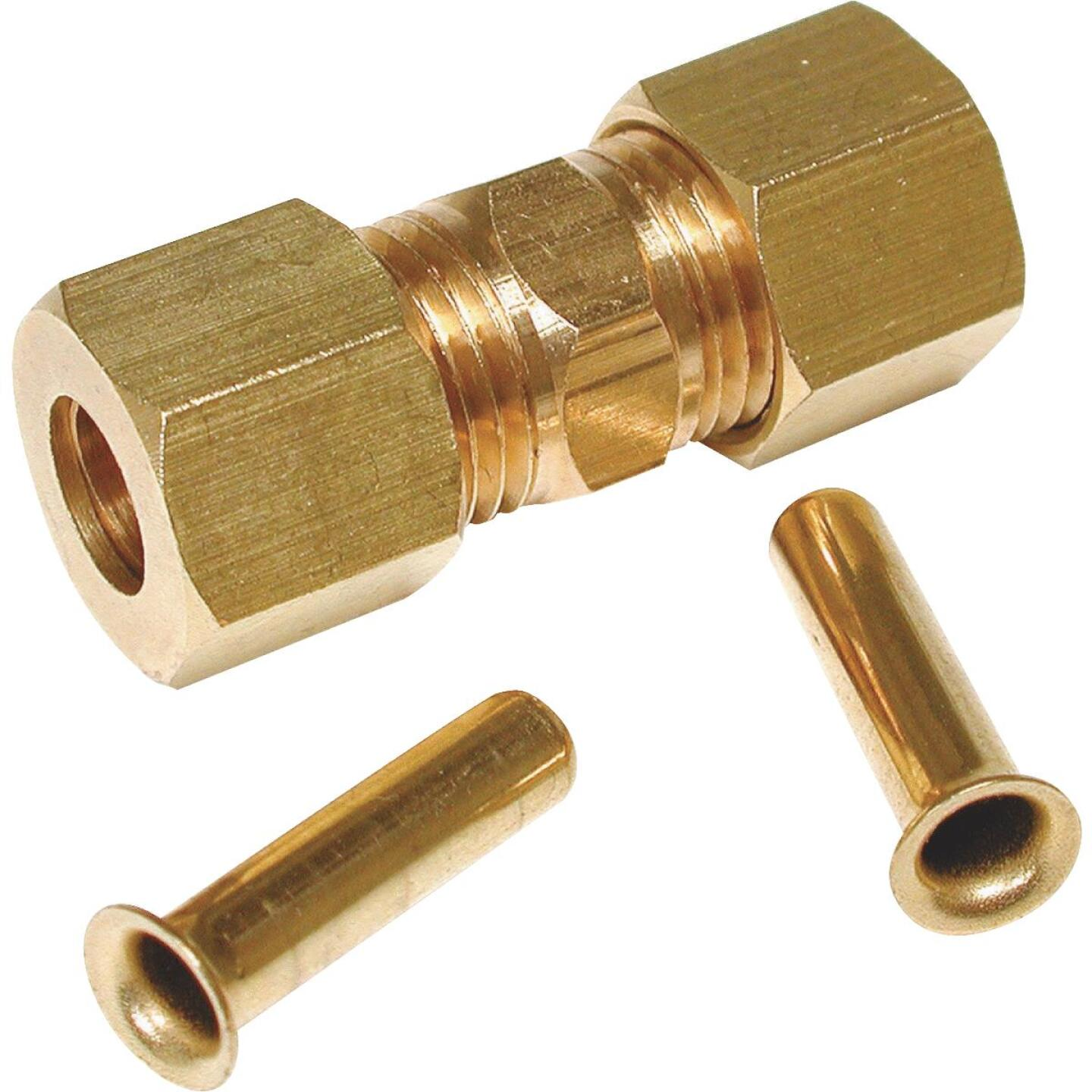 Dial 1/4 In. Brass Compression Union Image 1