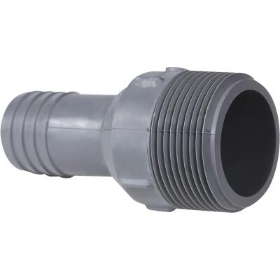 Boshart 1 In. Insert x 1-1/4 In. MIP Reducing Polypropylene Hose Adapter
